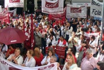 CICOP – BUENOS AIRES // Con fuerza y Unidad, contra la crisis en la Salud Pública