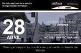 28 de Abril / Día Internacional de la salud y la seguridad en el trabajo