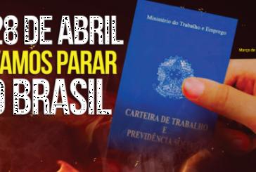 CSA apoya la huelga general en Brasil el 28 de abril