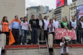 CARPA DE CICOP EN DEFENSA DE LA SALUD EN EL OBELISCO