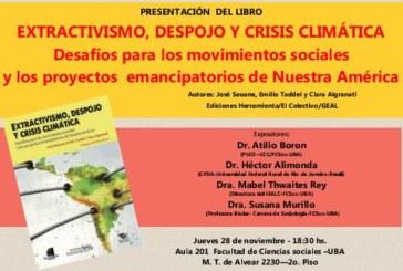 """Extractivismo, despojo, y crisis climática"""""""