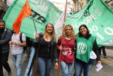 ::Tres mujeres combativas, tres dirigentas, tres sindicatos