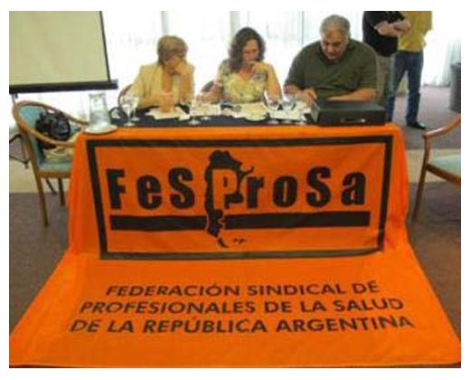 CONGRESO EXTRAORDINARIO DE FESPROSA ELIGE NUEVA CONDUCCIÓN