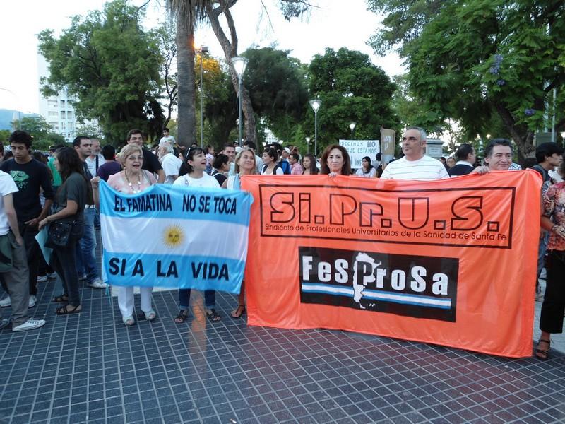 La Rioja: marcha contra la megaminería
