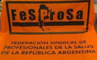 LA FESPROSA ANUNCIA PAROS DE 48 HORAS EN CHACO Y SANTA CRUZ - PROTESTA EN EL HOSPITAL POSADAS