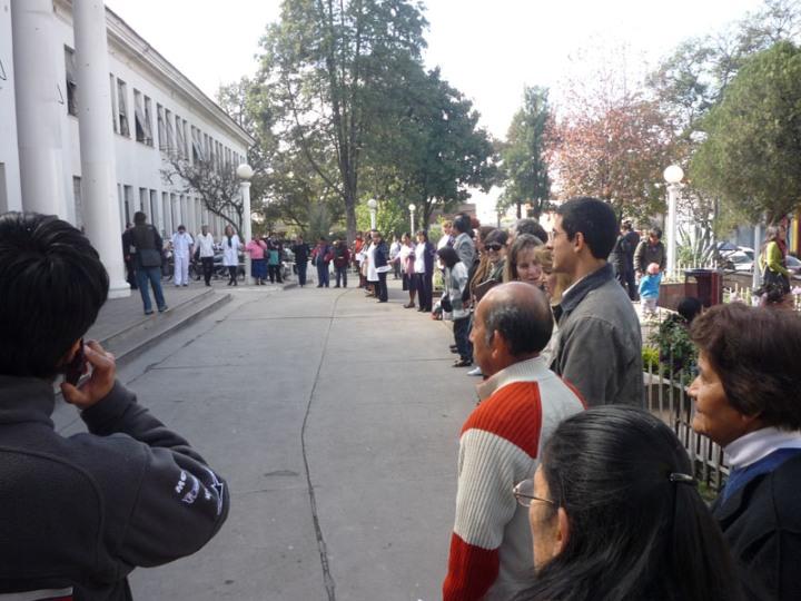 Jujuy | Los profesionales paran el miércoles 30 de mayo