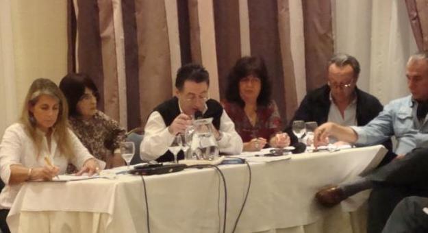 Reunión del Consejo Ejecutivo Nacional en Santa Fe