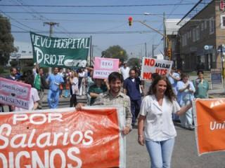 """Río Cuarto - La UTS pidió que no se use al Hospital """"como un trampolín político"""""""