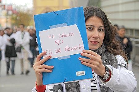Madrid defiende su salud pública