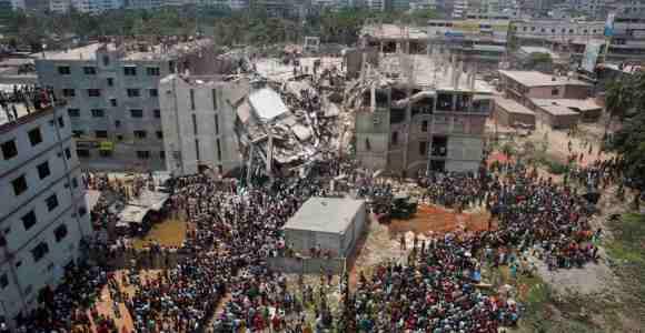 HOMICIDIO INDUSTRIAL MASIVO EN BANGLADESH