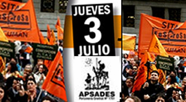 Jornada de protesta y asamblea en los hospitales