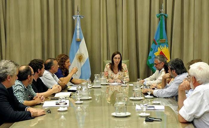 CICOP se reunió con la gobernadora de la provincia de Buenos Aires, María Eugenia Vidal