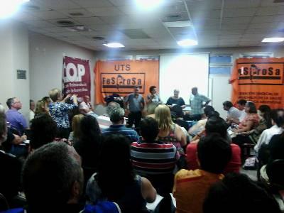 Noveno Congreso Extraordinario de FESPROSA Declaración política y resoluciones