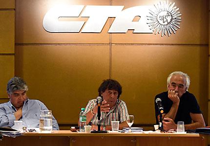 La Comisión Ejecutiva Nacional de la CTA Autónoma se reunió y definió el comienzo de un plan de lucha contra la profundización del ajuste