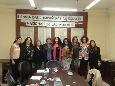 Las compañeras de la CTA Autónoma presentaron líneas de acción al Consejo Nacional de la Mujer