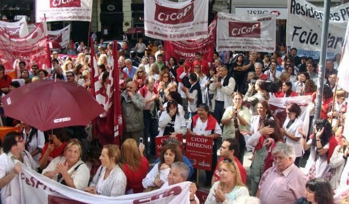 CICOP - BUENOS AIRES // Con fuerza y Unidad, contra la crisis en la Salud Pública