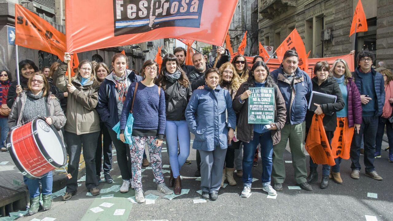 Movilización al nodo Rosario en el marco del paro Provincial, junto a los compañeros de ATE