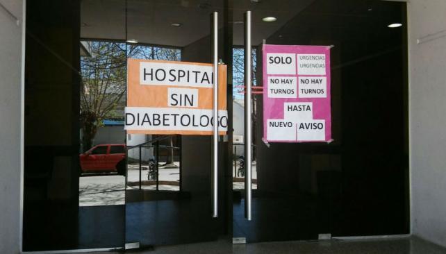 · En el Hospital de Unquillo se suspendieron algunos turnos programados