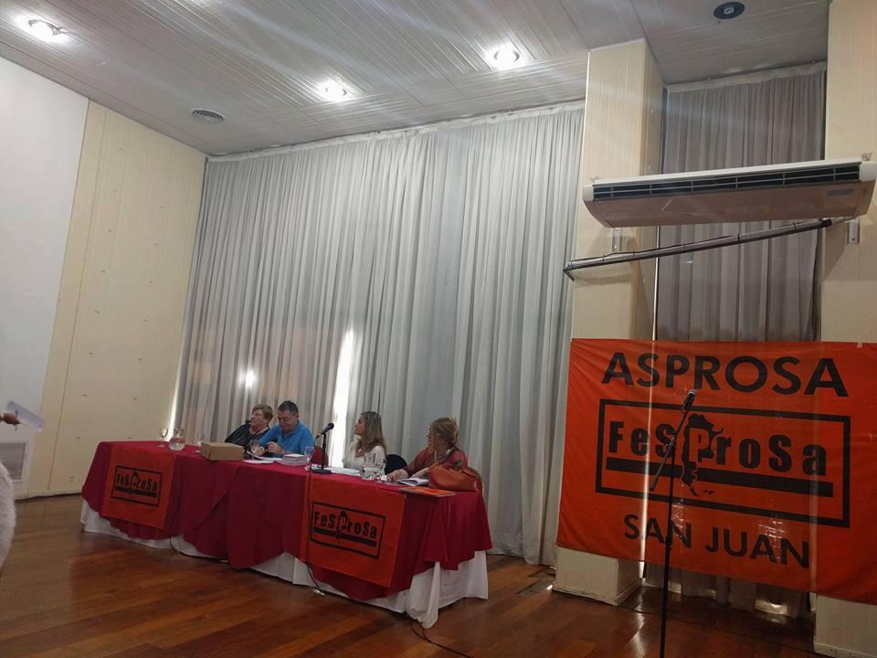 CONGRESO EXTRAORDINARIO DE LA FEDERACIÓN SINDICAL DE PROFESIONALES DE LA SALUD - FESPROSA