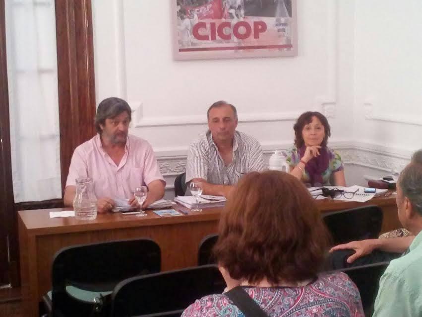CICOP: El Congreso de Delegados resolvió paro de 24 hs el 21/12