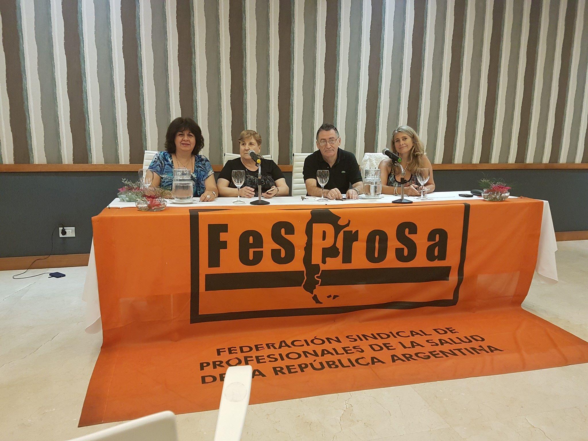Puesta en funciones de las nuevas autoridades del Consejo Ejecutivo Nacional de FeSProSa