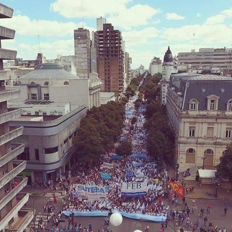 30 DE MARZO UNA NUEVA JORNADA NACIONAL DE LUCHA CON PAROS Y MARCHAS