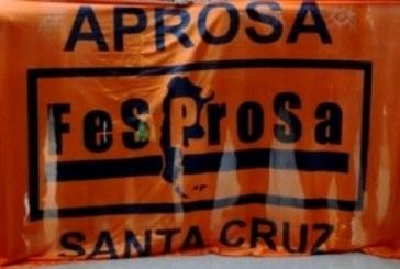 FESPROSA hace propia la declaración de su regional santa cruz