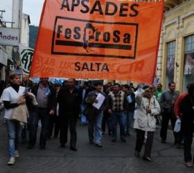 La FESPROSA apoya a su Regional Salta