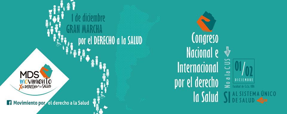 Inscripción al Congreso Nacional e Internacional por el Derecho a la Salud