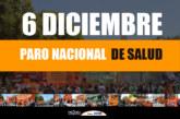 6 de Diciembre –FESPROSA convocaa Paro Nacional de Salud con movilización