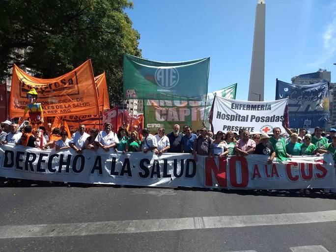 EL GREMIO NACIONAL DE LA SALUD FESPROSA ANUNCIA PAROS Y PROTESTAS