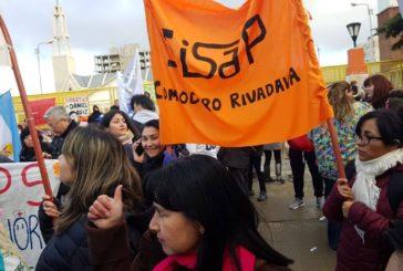 SISAP Fesprosa se afianza en la lucha como el gremio provincial de la Salud Pública de Chubut