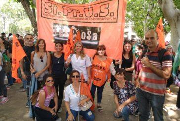 Jornada de protesta de Gremios estatales en CTA Autónoma Rosario