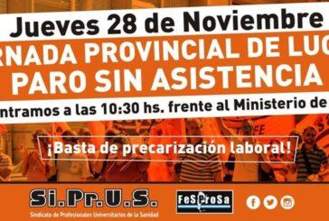FeSProSa anuncia conflictos en cinco provincias