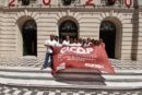 Cicop Mercedes y Cicop Junin acompañan a Cicop Bragado en sus reclamos ante el municipio.La 7- federalismo y unidad presente en la lucha de los profesionales.