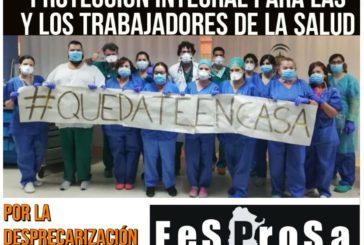 Ante el Coronavirus / Protección integral para las y los Trabajadores de la Salud