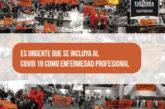 ES URGENTE QUE SE  INCLUYA AL COVID 19 COMO ENFERMEDAD PROFESIONAL