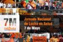 Jornada de lucha de trabajadores de salud en todo el país