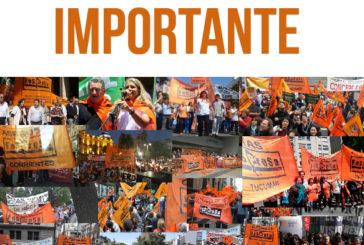 Apoyo del CEN de FESPROSA a lxs compañerxs de la federación aceitera por el conflicto Vicentin