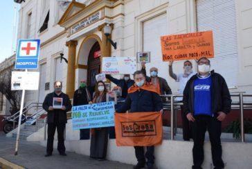 Exitosa Jornada de Lucha en defensa de la salud de los trabajadores sanitarios y por la apertura de paritarias
