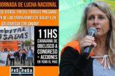 Fesprosa convoca a la Jornada Nacional de Lucha el martes 6 y marcha en caravana del Obelisco a Congreso