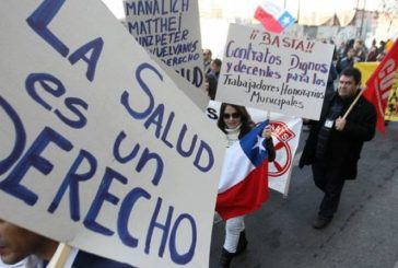 Apoyo a los gremios chilenos