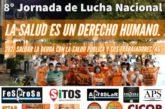 10/12 - 8º Jornada de Lucha Nacional La Salud es un Derecho Humano