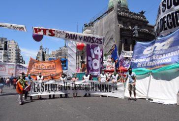 """Se realizó la 8ª jornada de nacional de lucha: """"Salud es un derecho humano"""