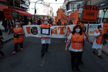 Paro en Tucumán: Trabajadores de salud llevan 16 meses con salarios congelados