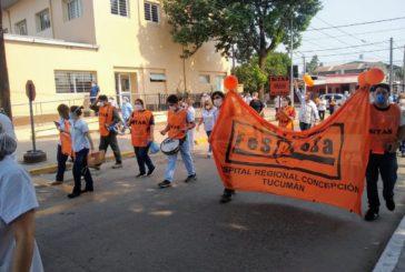 El conflicto salarial en salud se extiende a todo el país