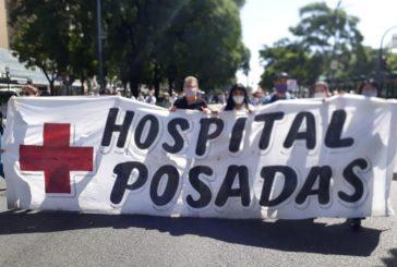Ahora frente al ministerio de salud con los residentes nacionales