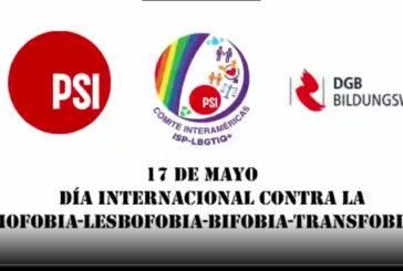17 de Mayo - Día Internacional contra la Homofobia - Lesbofobia - Bifobia-Transfobia