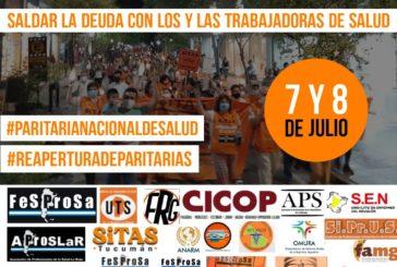 El 7 y 8 de julio, Fesprosa encabeza la Jornada Nacional de Lucha de Salud