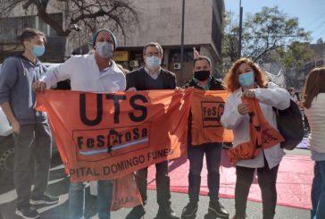 Ahora UTS FESPROSA se moviliza en el marco del paro de la multisectorial en Córdoba